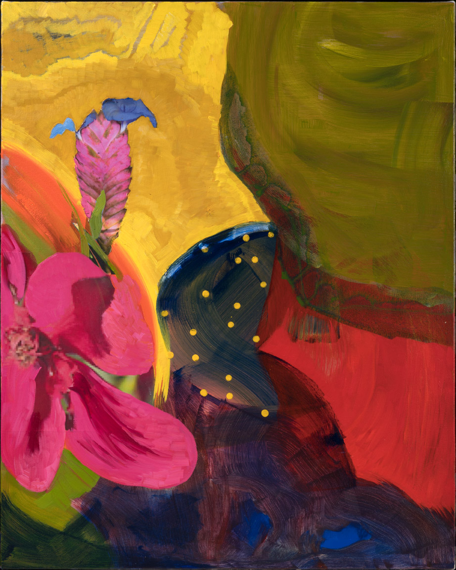 And The Earth Bloomed - oil acrylic painting by Artist Irwin E Thompson