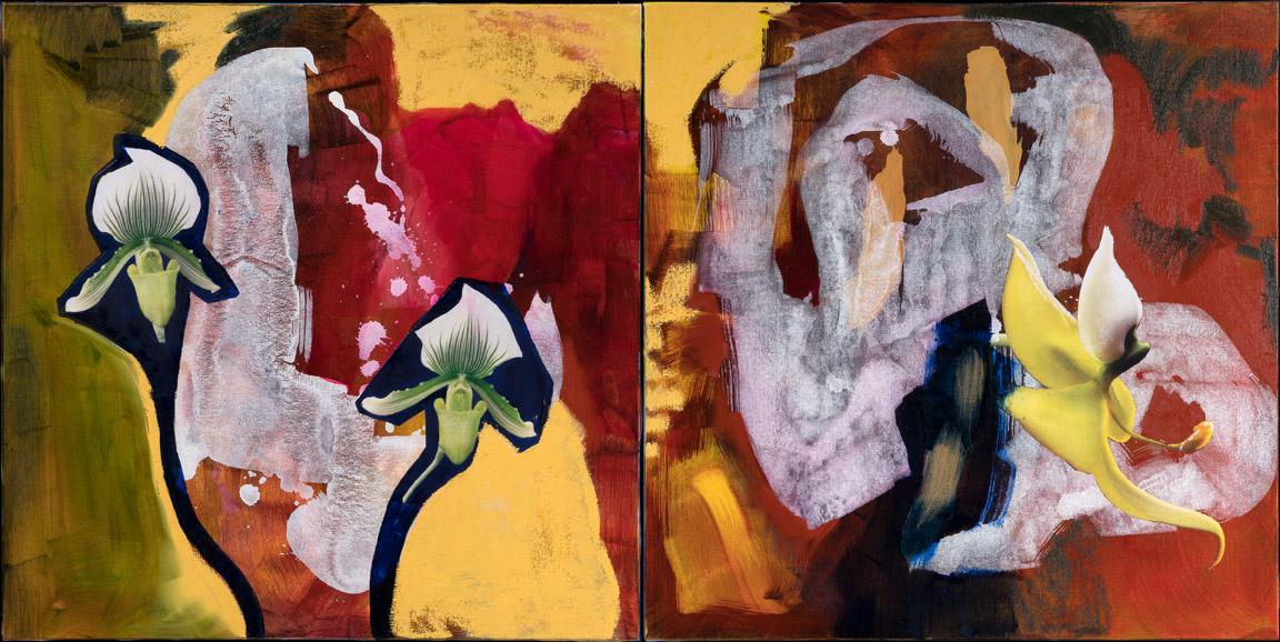 Fantasia oil painting by Irwin E Thompsonart