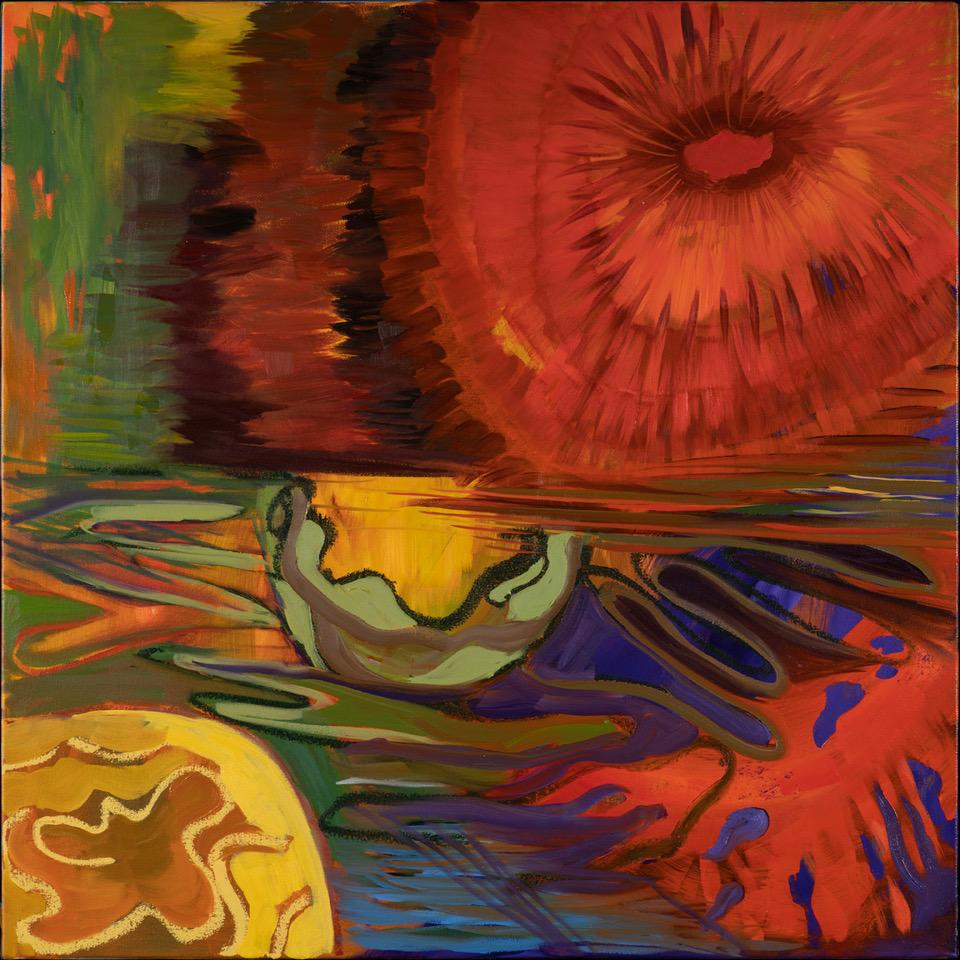 Sunburst - Oil Acrylic Painting by Irwin Thompson
