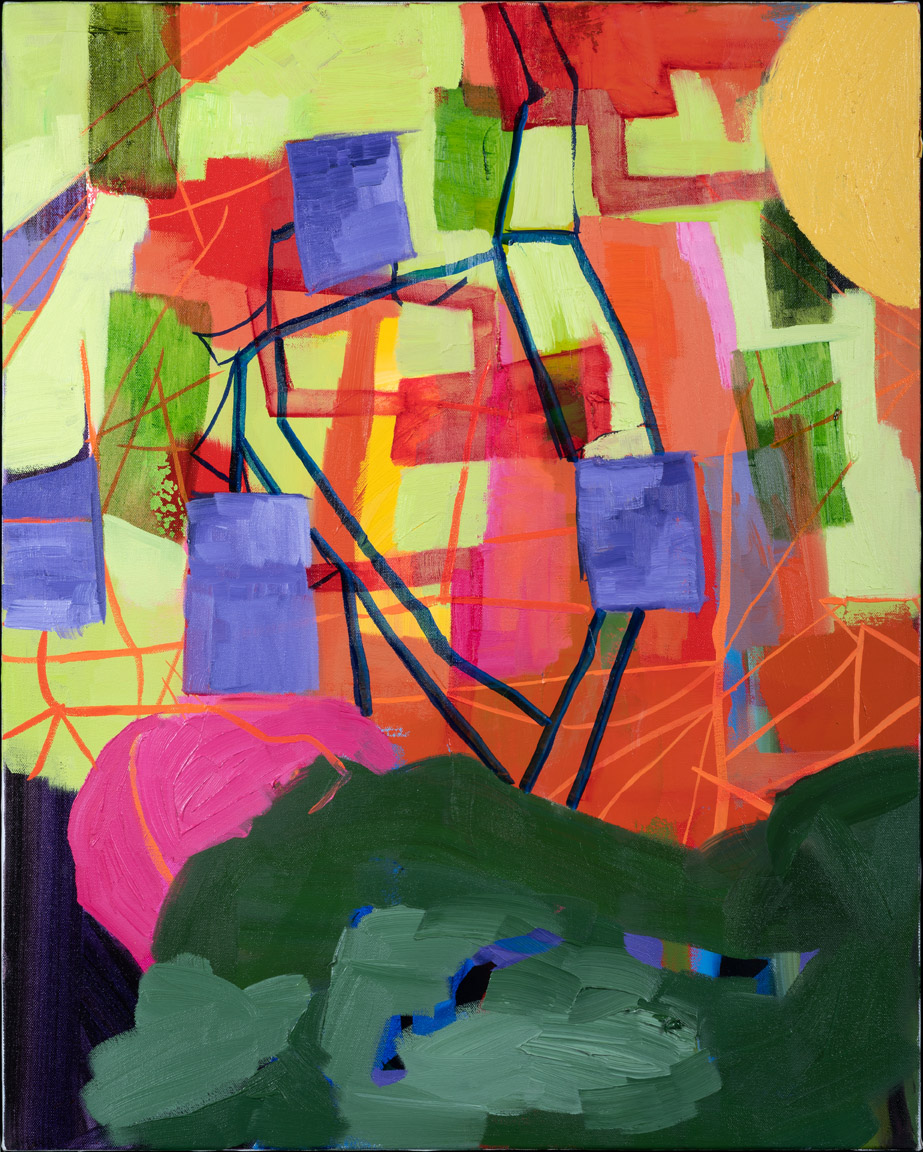 Transitions - Oil Acrylic Painting by Irwin Thompson