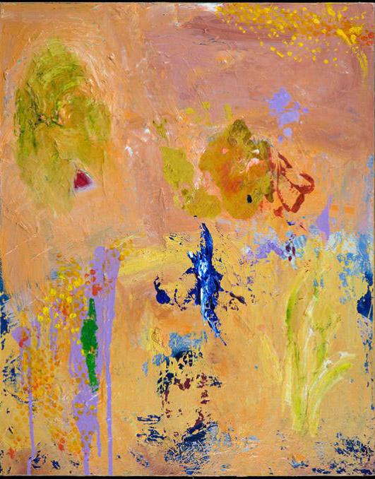Thompson - oil acrylic painting by Artist Irwin E Thompson