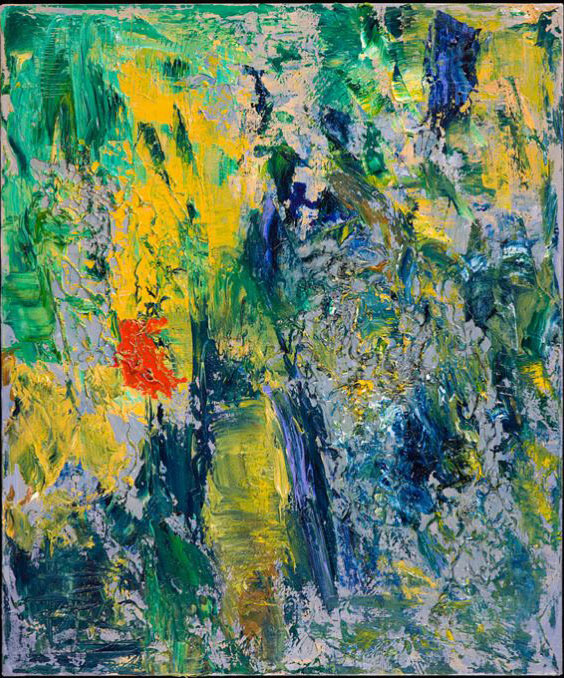 Thompson 11 - oil acrylic painting by Artist Irwin E Thompson